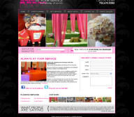 Kathy Goldstein Event Planner - Entertainment Website Design