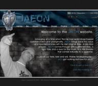 JAEON - Rap Artist - Entertainment Website Design