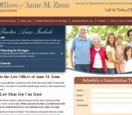 law offices anne m zaun website design