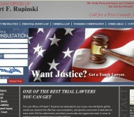 law offices robert f rupinski website design