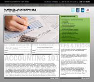 mauriello enterprises cpa website design