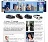 R&C Limousine website design
