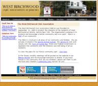 West Birchwood Civic Association - Non-Profit Website Design
