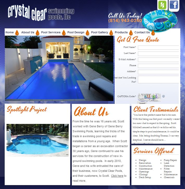 Home Improvement Contractor Aquarius Designs Inc