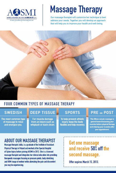 Massage Therapy best writing on the internet